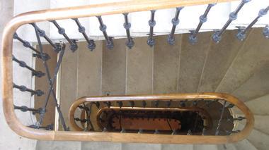Escalier vue du 5eme