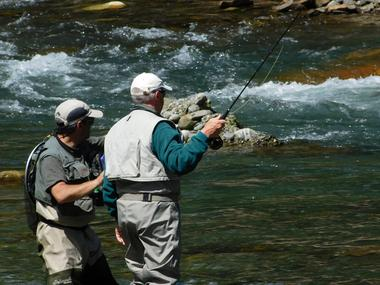 FLY FISHING Pyrénées 4 MONTREJEAU