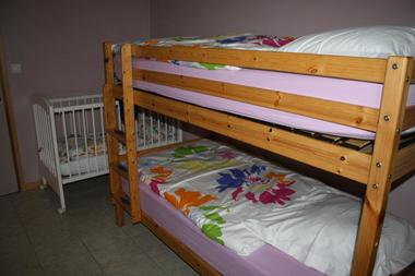 Gîte La Grange de Castelys chambre enfants MONES