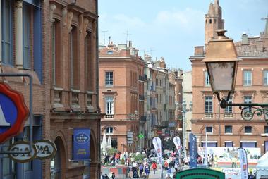 Rue Saint Rome vue fenêtre