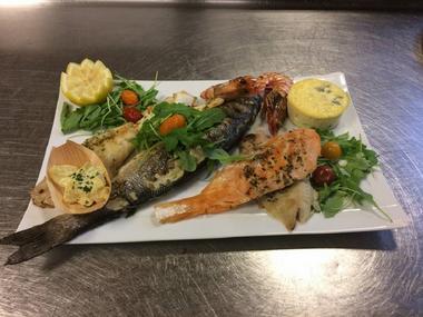 Restaurant Auberge ariegeoise CAZERES plat