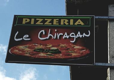 Restaurant Le chiragan MARTRES TOLOSANE enseigne