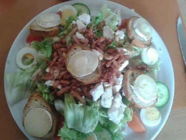 Restaurant Le chiragan MARTRES TOLOSANE salade