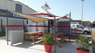 Restaurant Le kiosque à Pizzas CAZERES ext