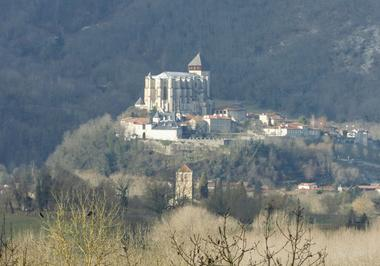 Vue sur Saint-Bertrand-de-Comminges herbreteau BARBAZAN