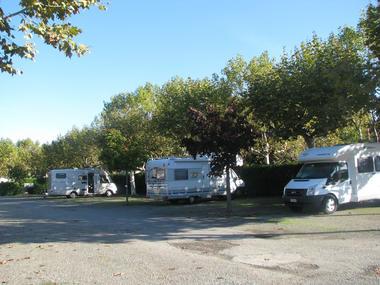 Emplacements caravanes