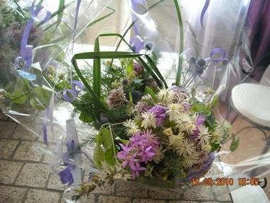 Composition florale des champs Viola 2000 RENNEVILLE