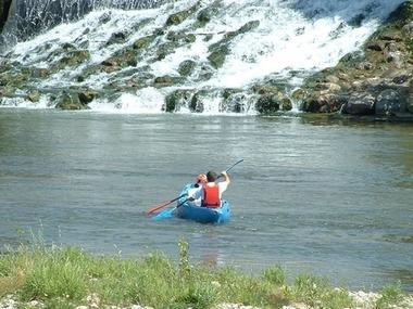 eaux vives balade canoe au depart auterive VENERQUE