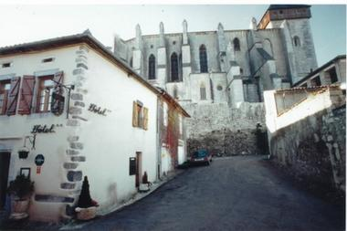 facade hotel oppidum SAINT BERTRAND