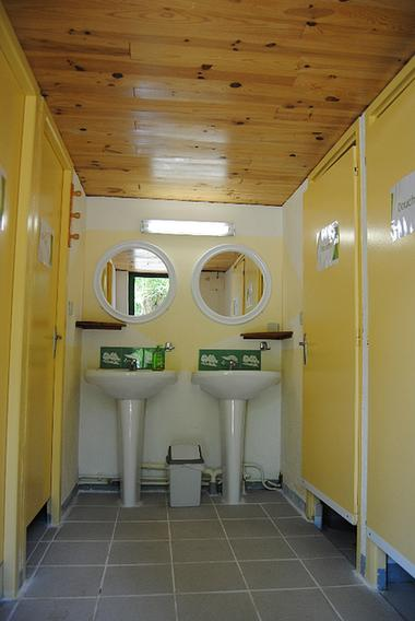 Sanitaire Camping MONTMAURIN