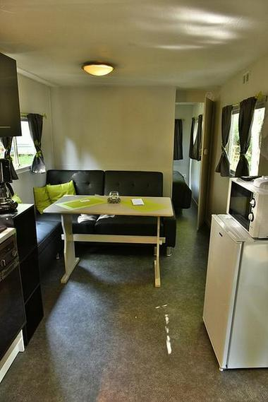 Interieur mobilhome Camping MONTMAURIN
