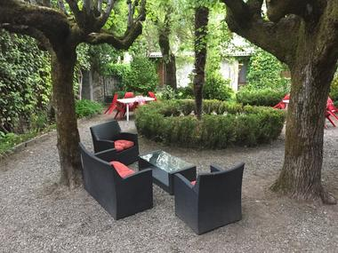 jardin petit train LUCHON