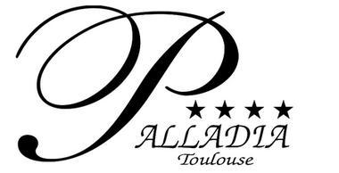logo script noir palladia TOULOUSE