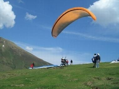 parapente decollage TOULOUSE