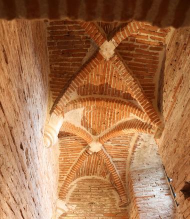 plafond en ogives croisées domaine de la terrasse CARBONNE