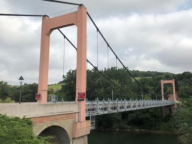 pont suspendu BESSIERES