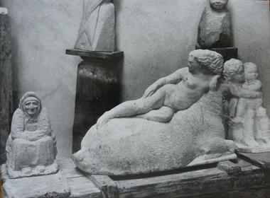statues musee abbal CARBONNE