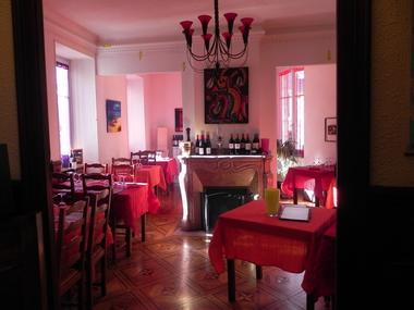 salle repas auberge crabere MELLES