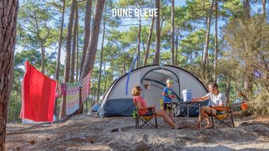 Camping de la Dune Bleue