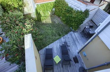 Duvergé Arcachon - Vue terrasse jardin - 15 small