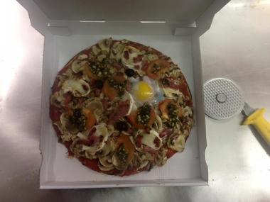 Les pizzas de Charlotte