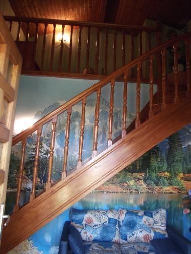 Location de vacances Mme Cheylat - entrée et escalier - Carcans