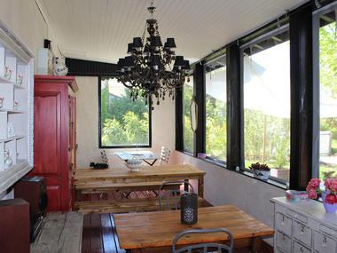 Villa thé au salon