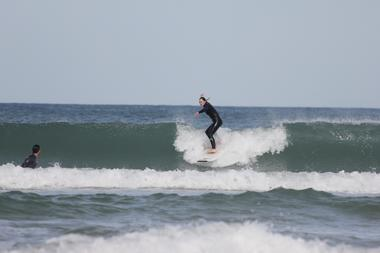 take off cours de surf lacaanu - Adrien Valero
