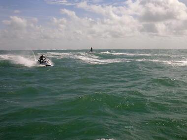 La Tranche sur mer Atlantic jet ski
