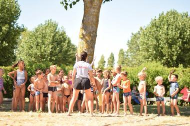 club enfants-camping du Jard- la Tranche sur mer