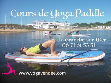 cours de sup yoga paddle la tranche sur mer vendee relaxation sejours yoga retraitres hotel les dunes