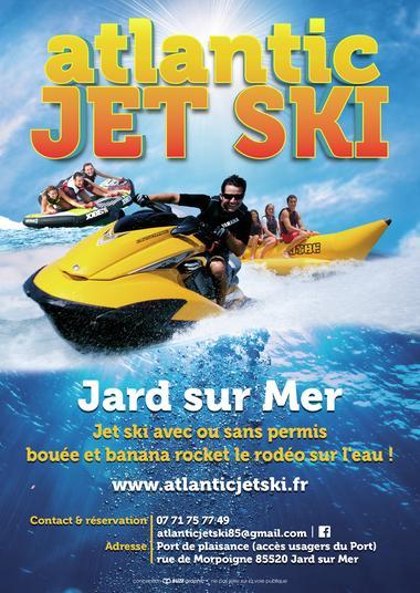 Atlantic jet ski Jard sur mer
