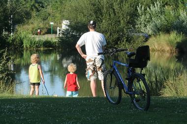 la pêche au camping les Saules