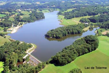 5-© lac du Tolerme - Gorses