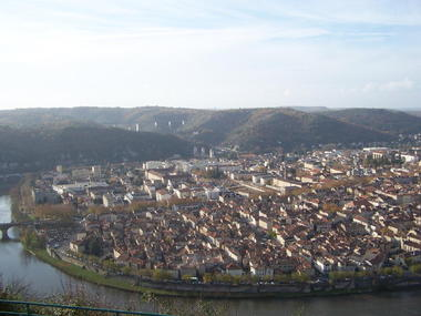 Cahors - Vue de la Ville