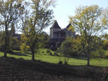 Saint Laurent Lomie : Maison avec Contreforts, Terrasse Couverte et Pigeonnier Tour