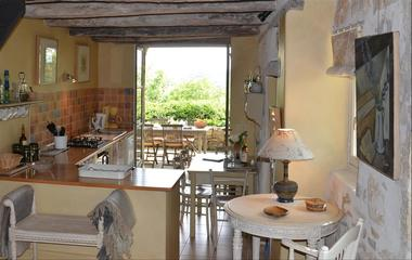 Gîte Rigoudau-Saint Denis les Martel-cuisine