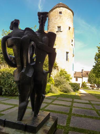 03Les Arques - Sculpture de Zadkine© Lot Tourisme - C. Sanchez