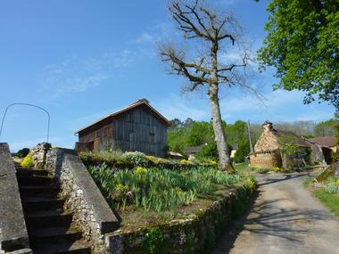 02Laglas - bourg © Lot Tourisme - C. Sanchez