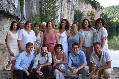 180703-Photos d'équipe10©V.ASSÉMAT-OT Cahors-St Cirq Lapopie