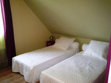Chambre rose étage