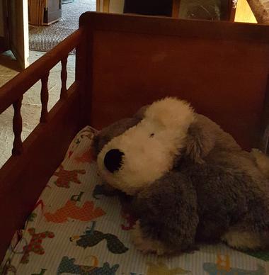 Un Doudou dans le lit d'enfant (0/5 ans)