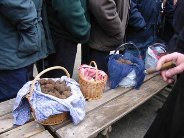 Lalbenque - Marché aux Truffes