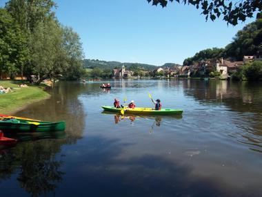 26_Canoe sur la Dordogne