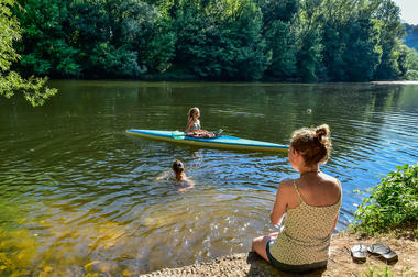 Activités nautiques - camping les Cournoulises_03 © Lot Tourisme - C. ORY