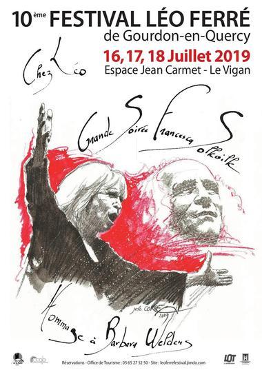 Affiche Léo Ferré 2019
