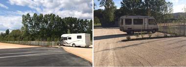 Aire de camping-cars-St Medard de Presque-emplacement 1