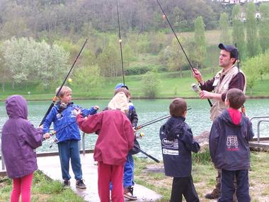 Atelier pêche