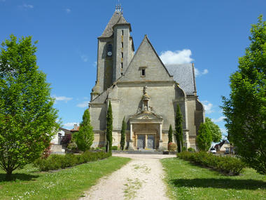 Assier - Jardins devant l'eglise_04 © Lot Tourisme - C. Sanchez