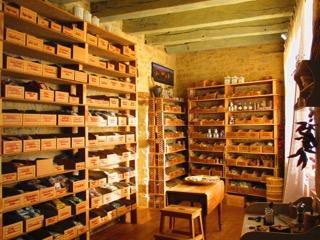 Aromatiques Tropicales magasin interieur
